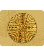 Mousepad Labyrinth von Chatres