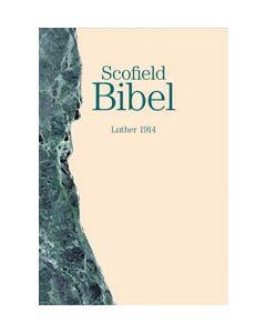 Scofield Bibel - grün/beige