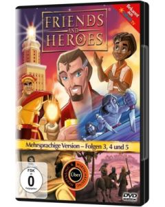 Friends And Heroes - Folgen 3,4 & 5