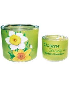 Leuchtglas Ostern - 6cm