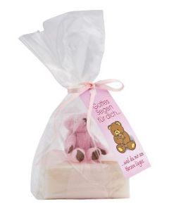 """Schafmilchseife """"Teddy"""" - rosa"""