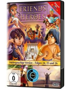 Friends And Heroes - Folgen 24,25 & 26