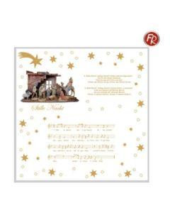 """Weihnachtsserviette """"Stille Nacht"""""""