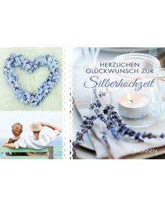 Herzlichen Glückwunsch zur Silberhochzeit - Gutscheinbuch