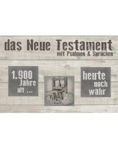 """Das Neue Testament """"Motiv Druckerpresse"""""""