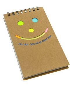 "Notizzettel-Set ""Smile"""