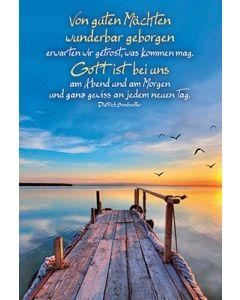 Postkarten: Von guten Mächten, 4 Stück
