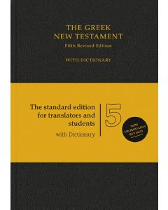 The Greek New Testament - schwarz