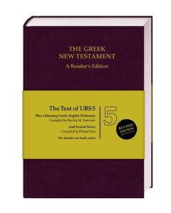 The Greek New Testament. A Reader`s Edition
