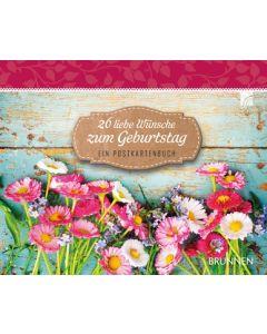 26 liebe Wünsche zum Geburtstag - Aufstellbuch