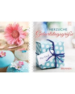 Herzliche Geburtstagsgrüße - Gutscheinbuch
