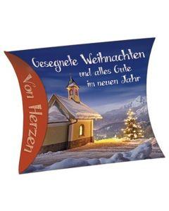 """Schafmilchseife Herz """"Gesegnete Weihnachten ..."""""""