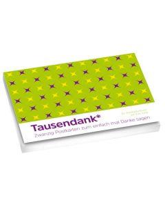 Tausendank - Postkartenbuch