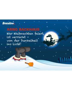 Wer Weihnachten feiert, ist verrückt - Postkartensammlung