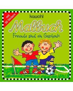 """Malbuch """"Freunde sind ein Geschenk"""""""