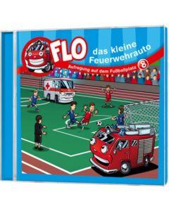 Flo - das kleine Feuerwehrauto: Aufregung auf dem Fußballplatz (8)