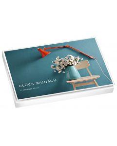 """Postkartenbuch """"GLÜCK:WUNSCH"""""""