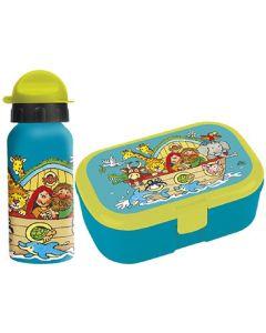 """Trinkflasche und Lunchbox """"Arche Noah"""""""