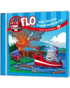 Flo - das kleine Feuerwehrauto: Feuer am Waldsee (9)
