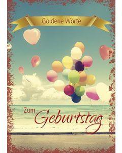 Goldene Worte - Zum Geburtstag
