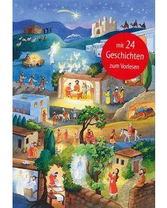 Die Weihnachtsgeschichte - Adventskalender