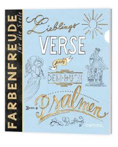 Lieblingsverse aus dem Buch der Psalmen - Ausmalbuch