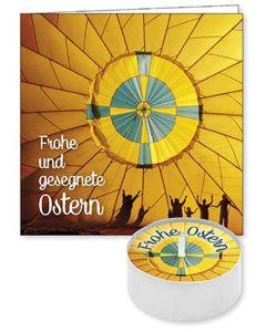 """Lichtgruß """"Frohe und gesegnete Ostern"""""""