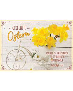 """Doppelkarte """"Gesegnete Ostern"""" Narzissen"""