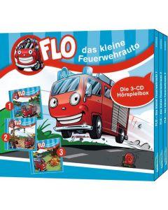 Flo - das kleine Feuerwehrauto - Die 3-CD Hörspielbox