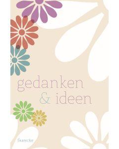 Notizbuch Gedanken und Ideen
