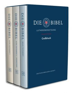 Lutherbibel revidiert 2017 Großdruck - Gesamtausgabe