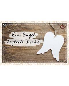Teekarte - Ein Engel begleite Dich!