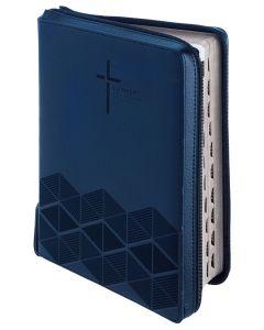 Luther21 - F.C.Thompson Studienausgabe - Taschenausgabe Kunstleder blau