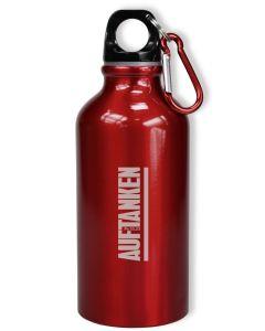 Trinkflasche - Auftanken - rot