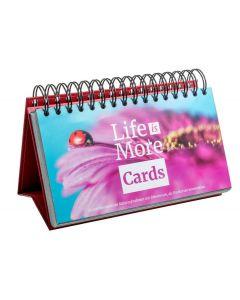 Life is more Cards - Tischaufsteller