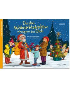 Die drei Weihnachtsdetektive schnappen den Dieb - Adventskalender