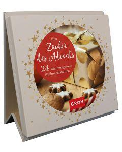 Vom Zauber des Advents. 24 stimmungsvolle Weihnachtskarten - Aufstellbuch