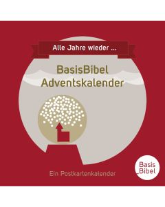 BasisBibel Adventskalender - Tischaufsteller