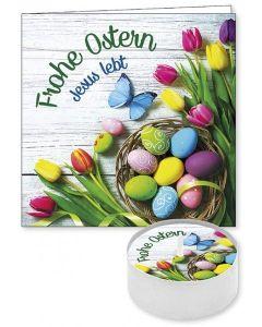 """Lichtgruß """"Frohe Ostern"""""""