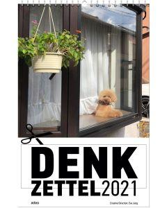 DENKzettel 2021 - Posterkalender