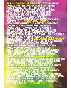 Jahreslosung 2021 - Poster 40 x 60 cm