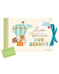 Liebe Wünsche zur Geburt - Gutscheinbuch