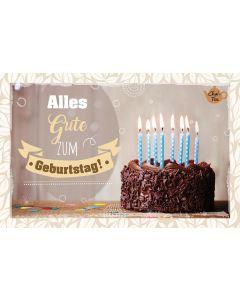 Teekarte - Alles Gute zum Geburtstag!