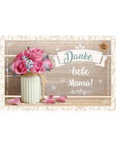 Teekarte - Danke liebe Mama!