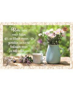 Teekarte - Ruhe finden