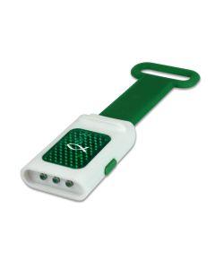 LED Taschenlampe Reflektor Ichthys grün