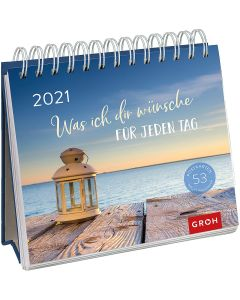 Was ich dir wünsche für jeden Tag 2021 - Postkartenkalender