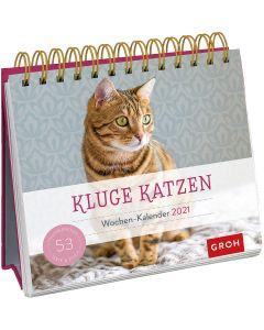 Kluge Katzen 2021 - Wochenkalender