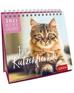 Für Katzenfreunde 2021 - Mini-Wochenkalender