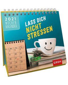 Lass dich nicht stressen 2021 - Mini-Wochenkalender